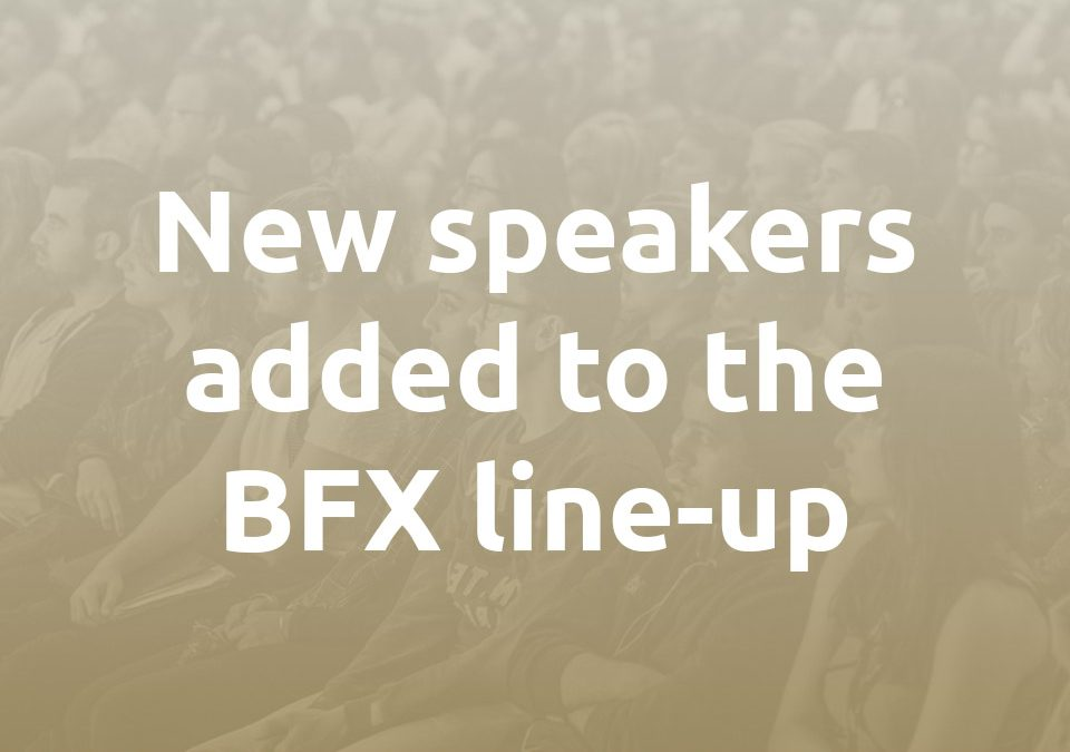 New speakers announced 2017