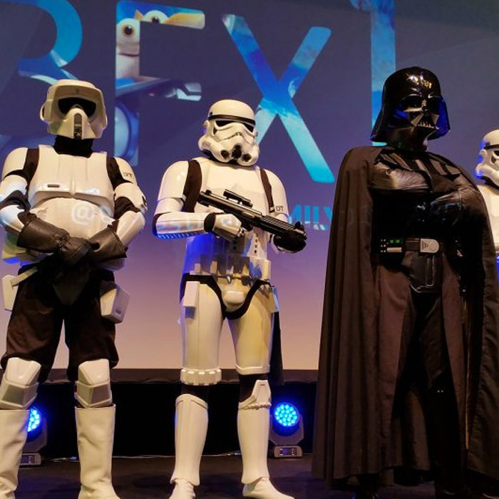 Stormtroopers at BFX Festival